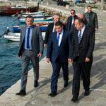 Ministar Butković obišao radove u luci Senj koje ministarstvo financira sa 4,5 milijuna kuna