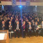 Senjani i Senjkinje u prepunoj dvorani dočekali predsjednicu Kolindu Grabar Kitarović!